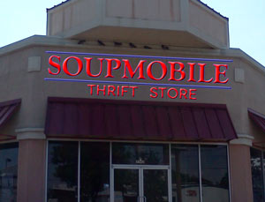 New SoupMobile Thrift Store.