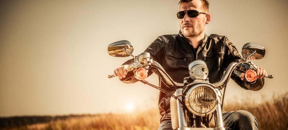 Motorrad Fahrer
