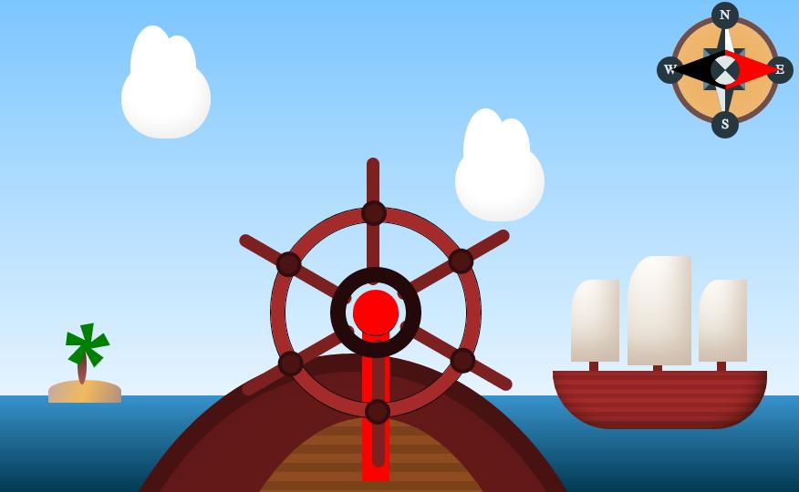 Sass Compass & Coffeescript Pirate Ship