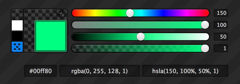 HSL Color Picker
