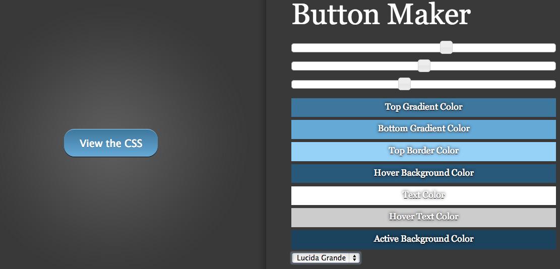 CSS Button Maker