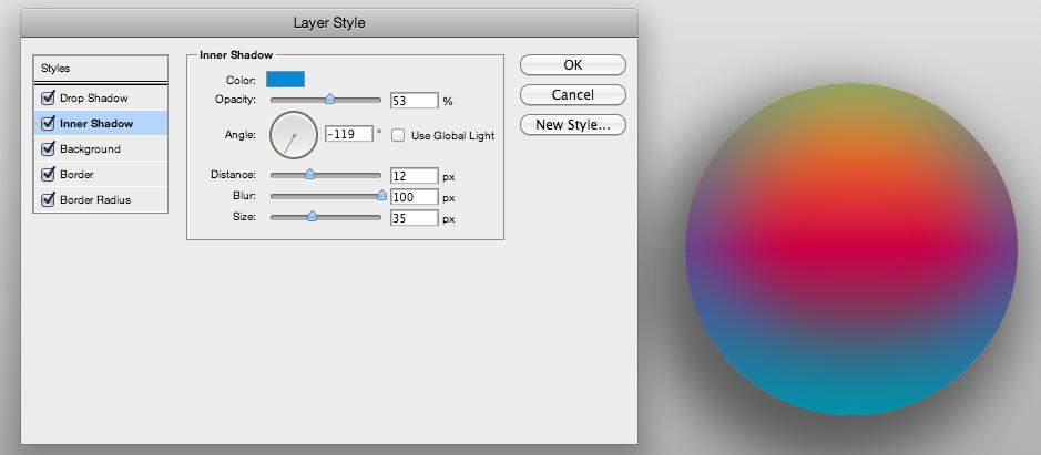 Layer Styles CSS3 Generator