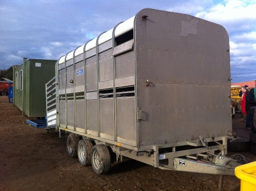 Ifor William Stock Trailer £1,520