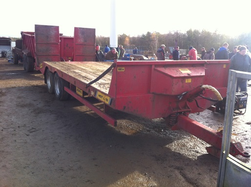 Heron Low Load Trailer £5,700