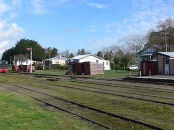 Waihi Railway Yard