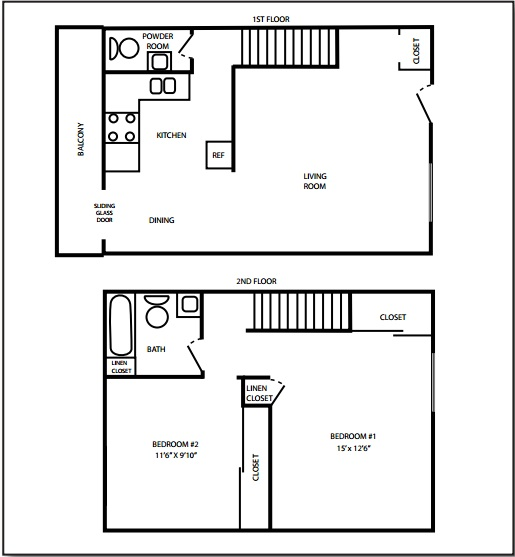Graham & Vira Townhome Floorplan