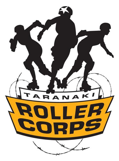 Taranaki Roller Corps Logo