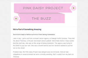 the pink daisy project thumbnail