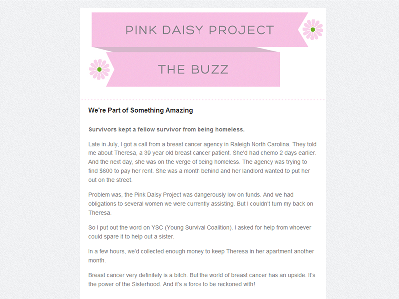pink daisy project image 1