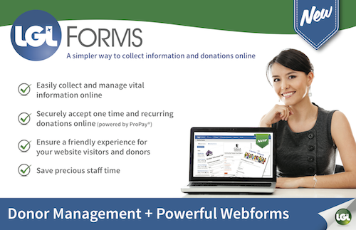 LGL Forms- a simpler way to collect information and donations online