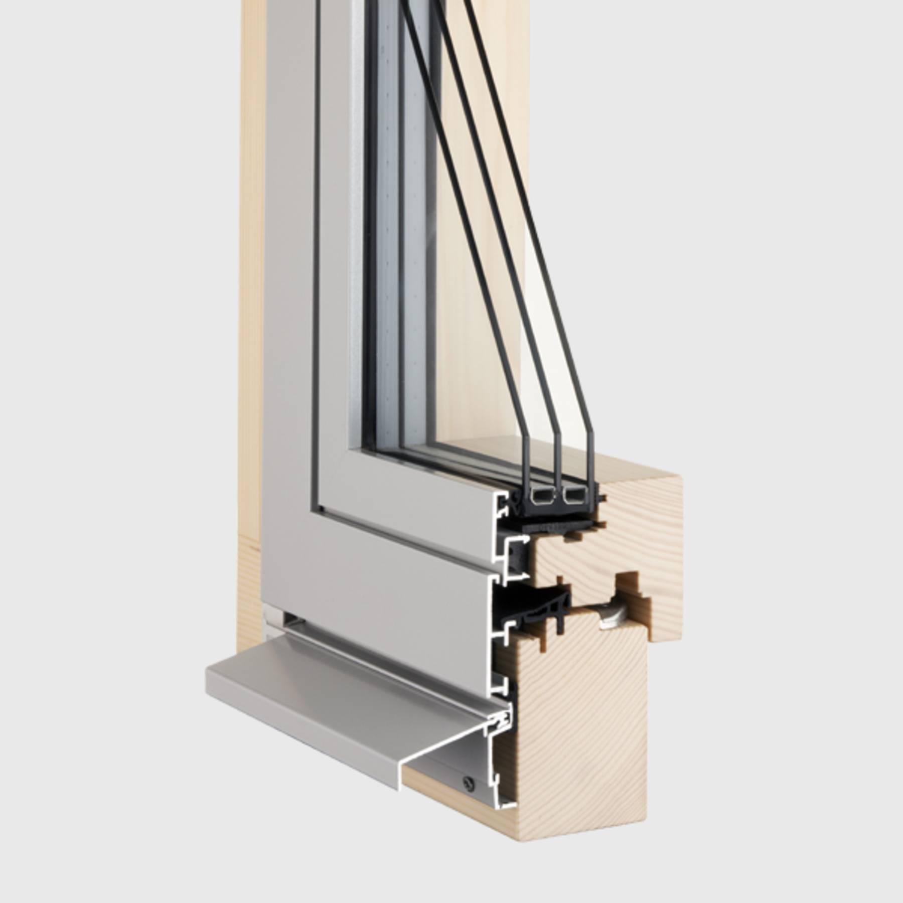 Hinze holzfenster holzmetallfenster for Fenster 0 5 ug