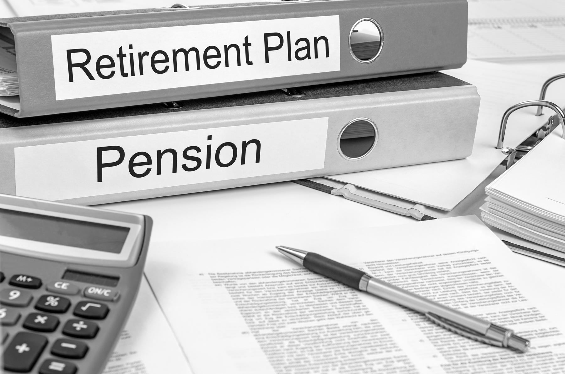 Social Security, Pension, Personal Savings