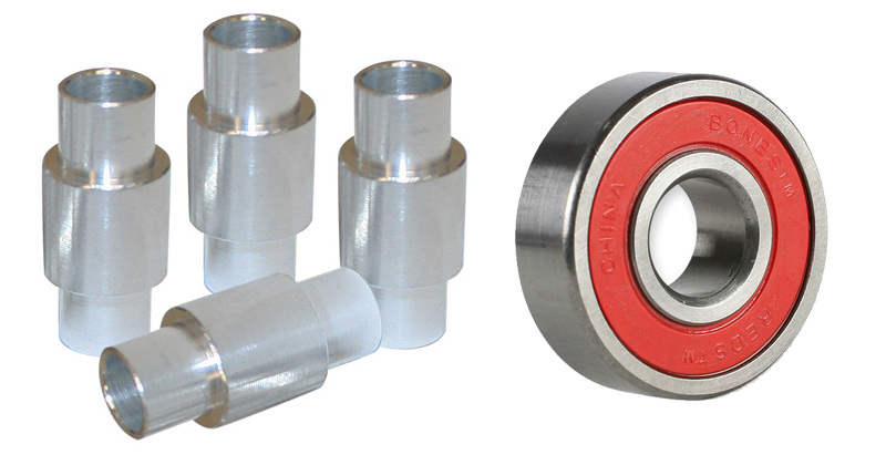 Skate Bearing and Spacers