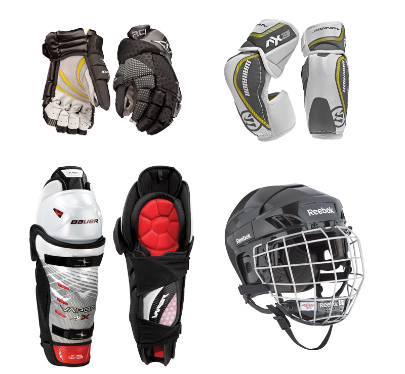 Hockey Gear Grouped