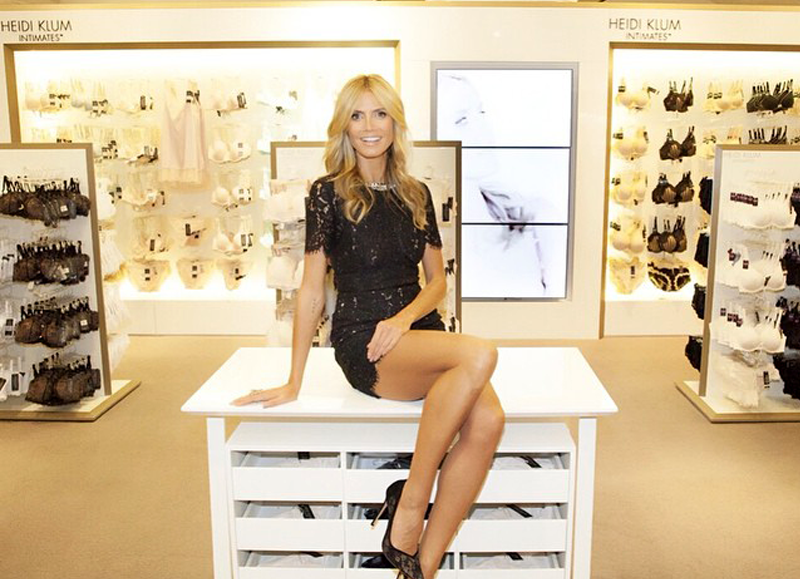 Heidi Klum Intimates Launch