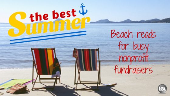summer beach reads for nonprofit fundraisers