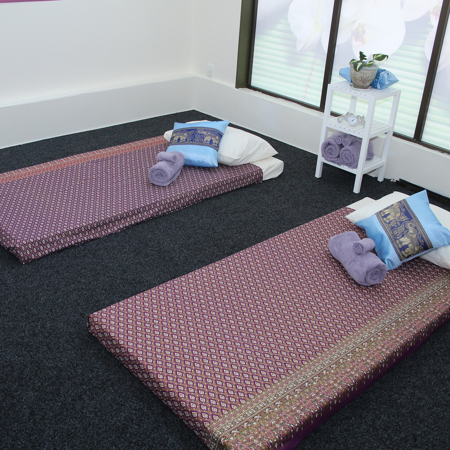 Pink massage room Jade Wanganui