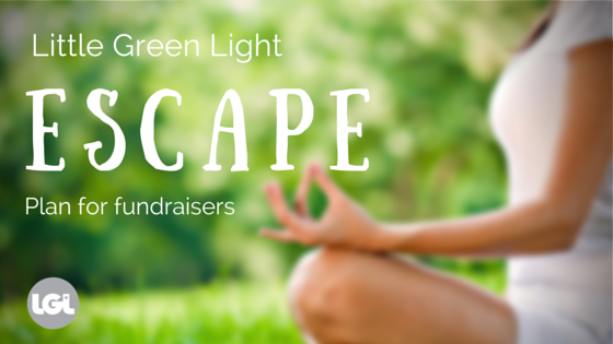 LGL ESCAPE Plan for fundraisers