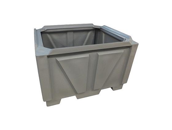 Industrial box pallet bin 1400 x 1150 x 875 Plast-ax