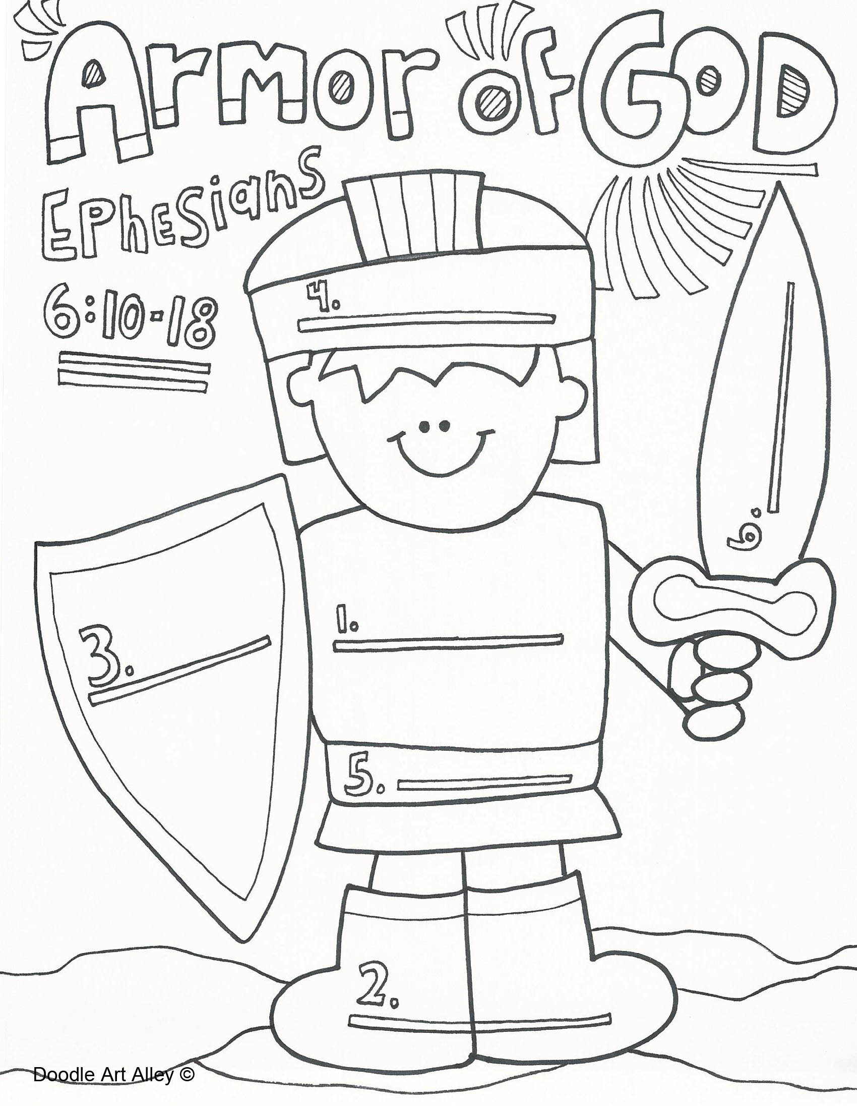 Worksheets Armor Of God Worksheet the christmas angel armor of god god