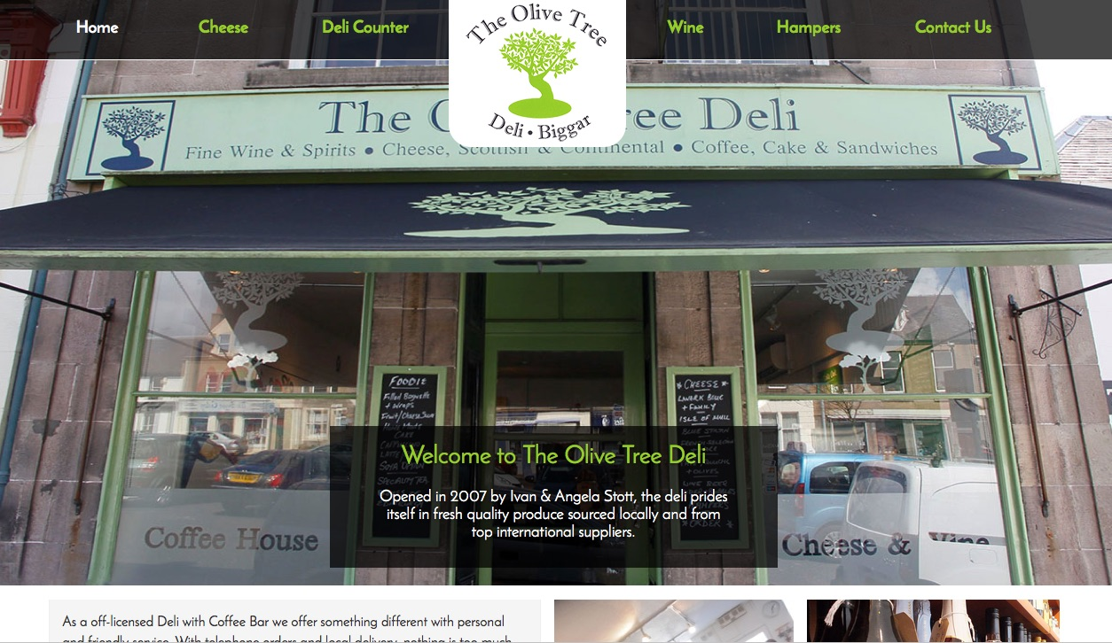 The Olive Tree Deli Biggar