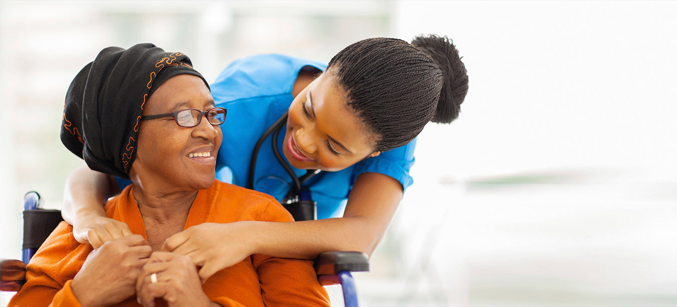 VPA medical assistant hugging a patient