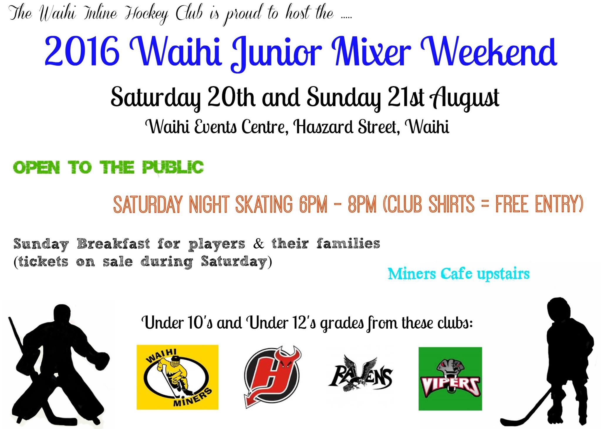 Junior Mixer Weekend