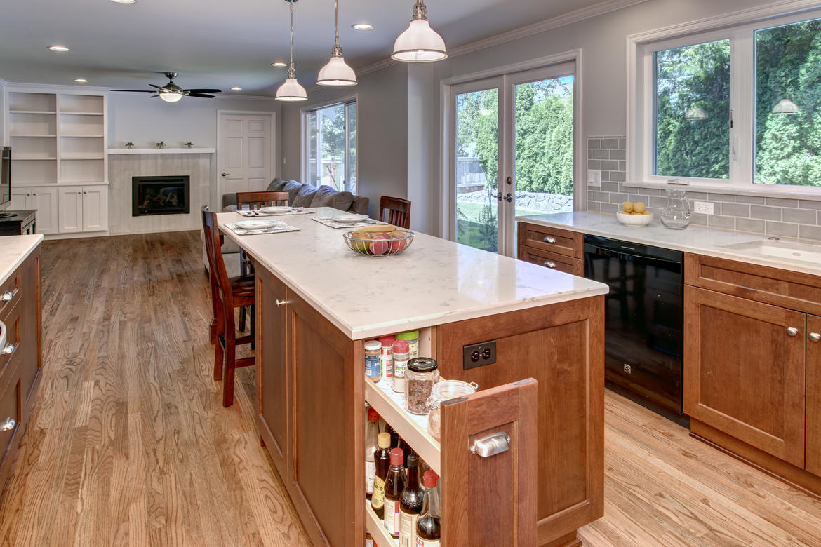building organization into your kitchen remodel