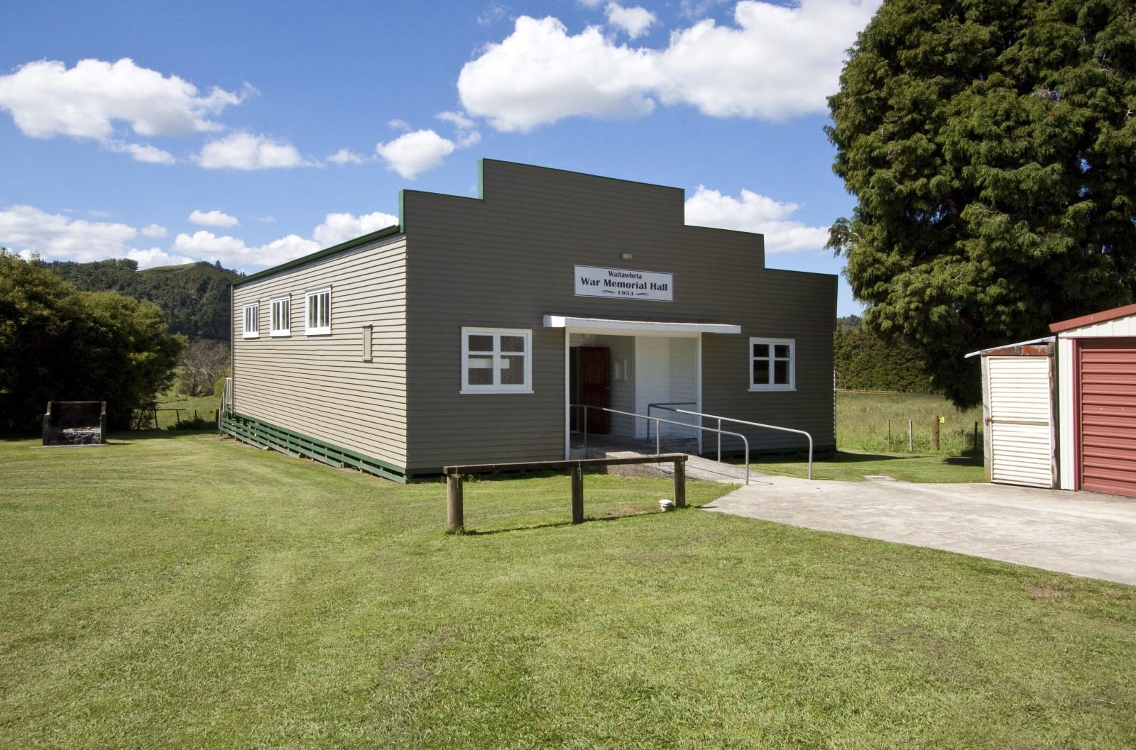 Waitawheta War Memorial Hall