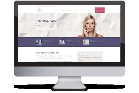 Total Body Laser - Webdesign