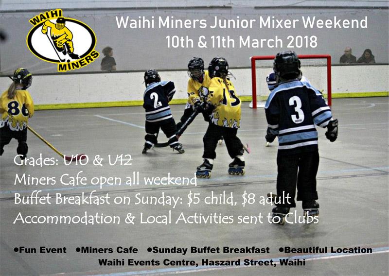 Junior Mixer Weekend 2018