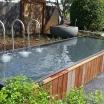 Aluminium-Wasserbecken