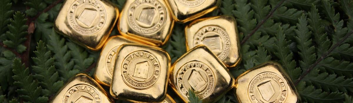Waihi's Ethical Gold - 1 ounce ingots
