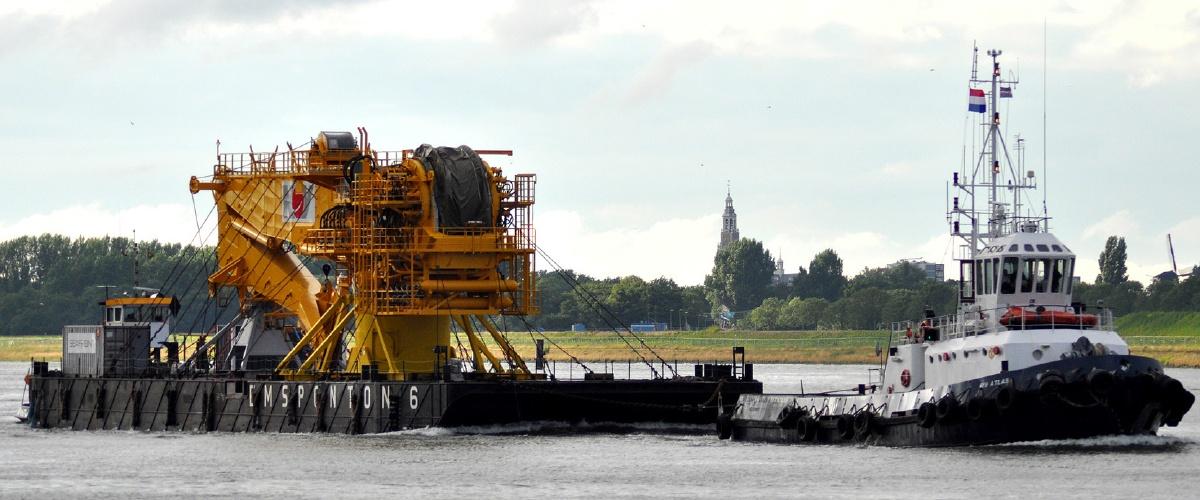 Transport of  Crane for NOV to Rotterdam