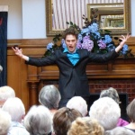 Edward Laurenson at the Lunchtime Concert in Heritage House