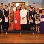 Dame Kiri Te Kanawa with the NZ Opera School students  2016