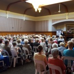 Capacity audience for the Lunchtime Recital
