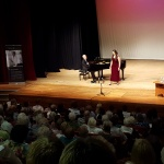 Cesar Ulloa gives a Masterclass to Isabella Moore. Accompanist Bruce Greenfield