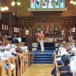 Chapel Service: Luca Manghi (accompanied by David Kelly) - Mendelssohn's 'On Wings of Song'