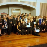 The Staff and Students of the New Zealand Opera School after Great Opera Moments