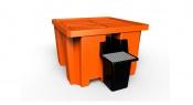IBC spil pallet drip tray Plast-ax