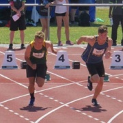 Jordan Cohen at NZSS Athletics Champs.