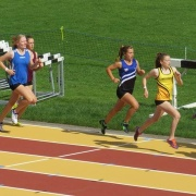 Rebecca Baker standout performances at the NISS Athletics; 4th & 5th placings in the 800m (2.18) & 1500m (4.45) Intermediate girl's finals, breaking both school records, 17-19 April 2017.
