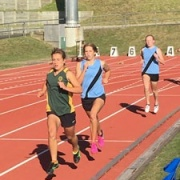 Awesome night at the WSS athletics at Cooks Gardens.. SCHOOL RECORD BROKEN!   Rebecca Baker 800m Intermediate Girls - 2.18.10, 15/3/17.
