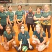 Junior A Girls Team.