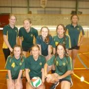 Senior A Girls Team.