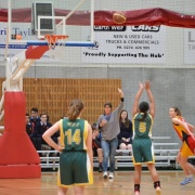 WHS Girls Basketball won 59-49, Hawera High School Sports Exchange, 10/8/17.