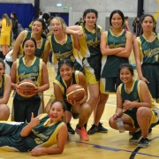 WHS Junior Girls Basketball Team WON at Central 6 in Palmerston North, 8/8/17.