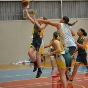 Jnr A Girls went through unbeaten WINNING overall, Youth Games Basketball Tourn, 5-9 June 2017.