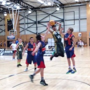 Boys 3x3 Basketball team playing in the SS 3x3 National Slam, 30 March - 1 April 2017.